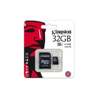 Kingston 32GB Micro SDHC Class 10 Flash Card with Adapter
