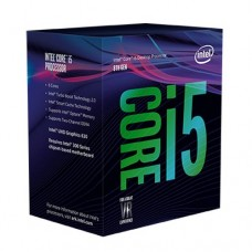 Intel Core i5-8600K CPU, 1151, 3.6 GHz (4.3 Turbo), 6-Core, 95W, 14nm, 9MB, Overclockable, Coffee Lake, NO HEATSINK/FAN